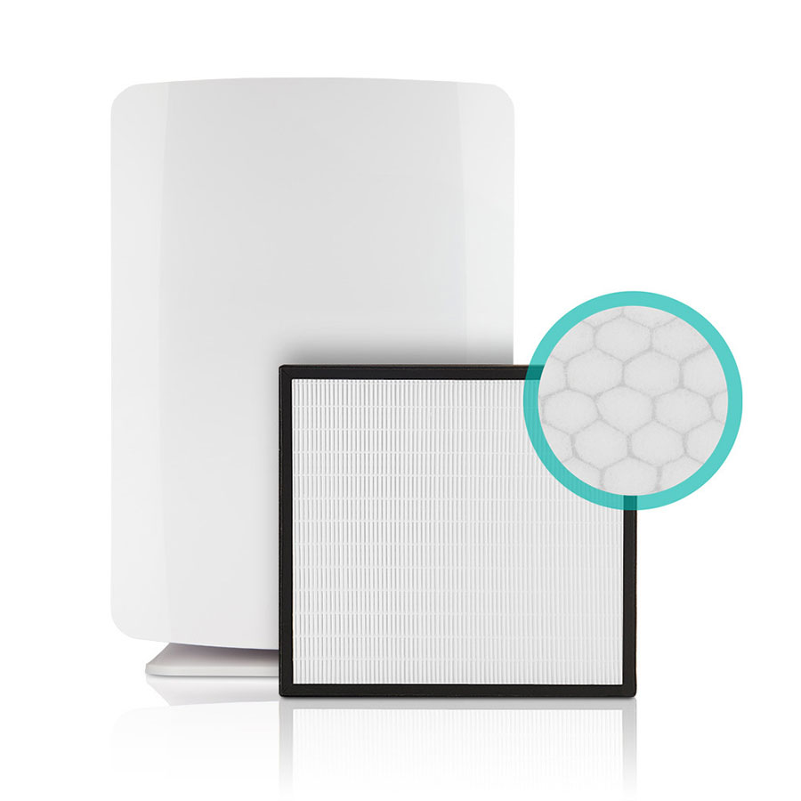 BreatheSmart Air Purifier shown with a OdorCell Filter