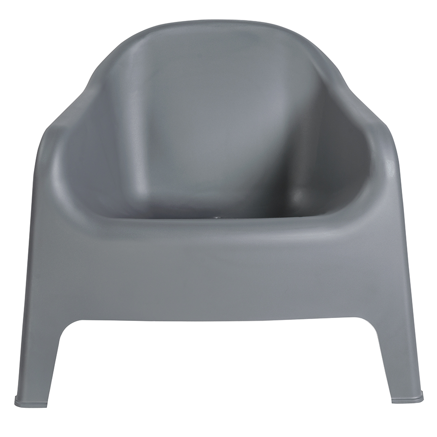 Buoy Dark Gray Contemporary Lounge Chair