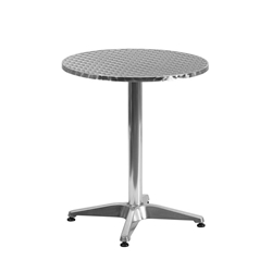 Calais 23.5 Inch Round Modern Outdoor Dining Table