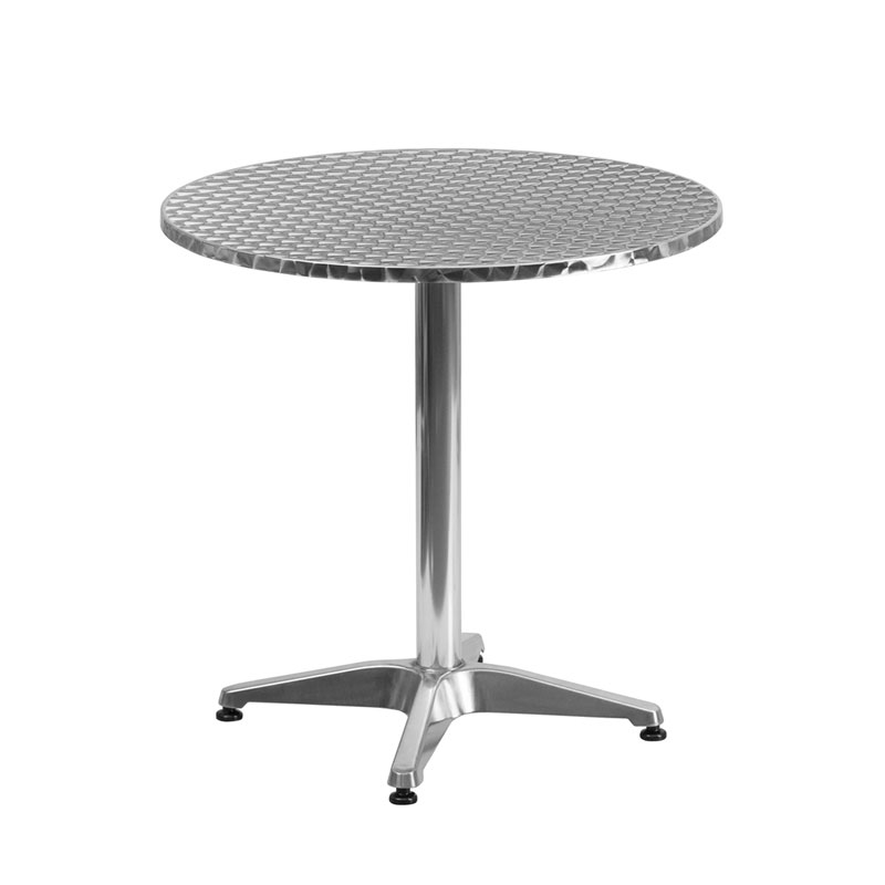 Calais 27.5 Inch Round Modern Outdoor Dining Table