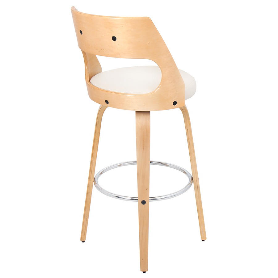 Calhoun Modern Natural Bar Stool