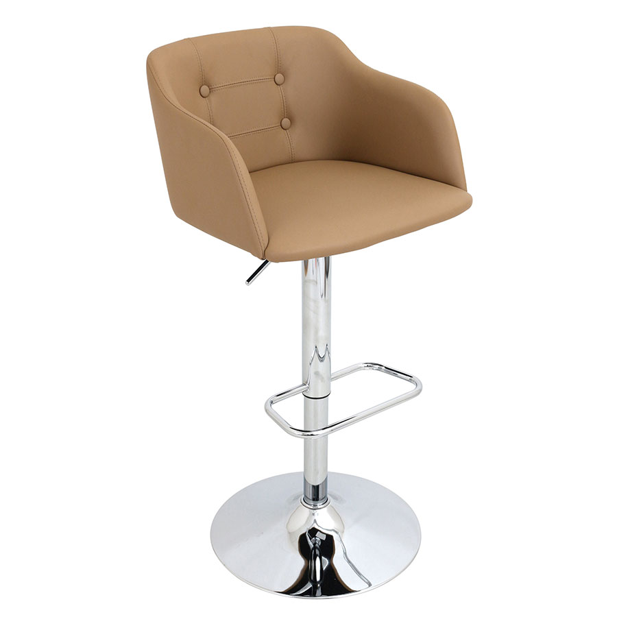 Callum Camel Modern Adjustable Stool