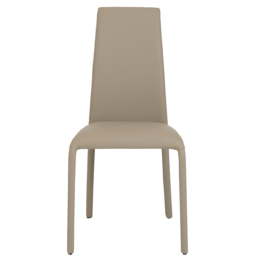 Camille Taupe Contemporary Dining Chair