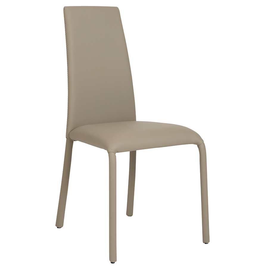 Camille Taupe Modern Dining Chair