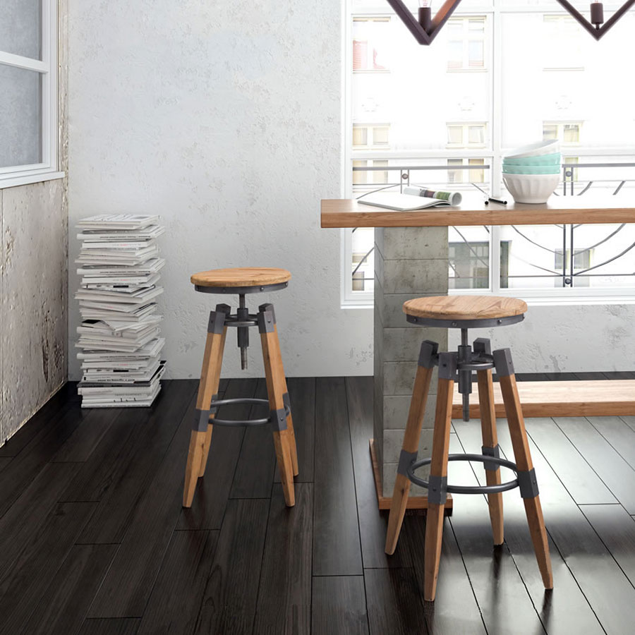 Capital Contemporary Adjustable Bar Stool