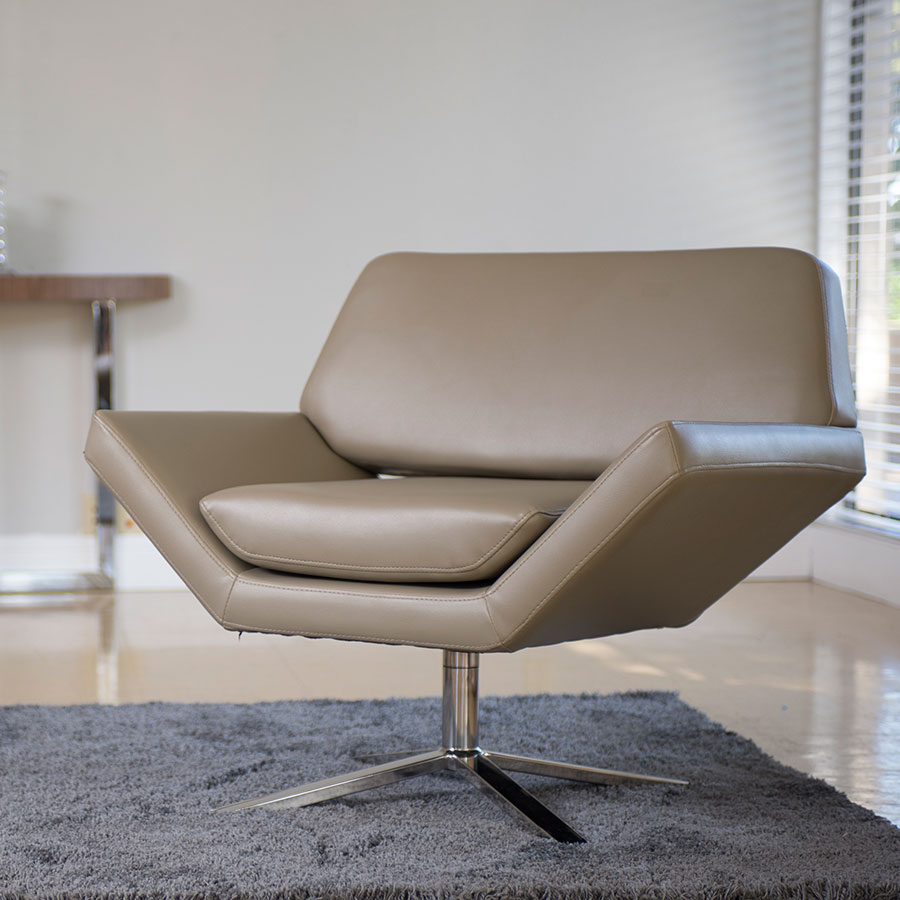 Carl Contemporary Lounge Chair