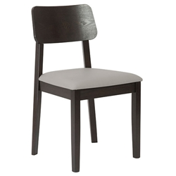 Carolina Modern Dining Chair - Light Gray Seat
