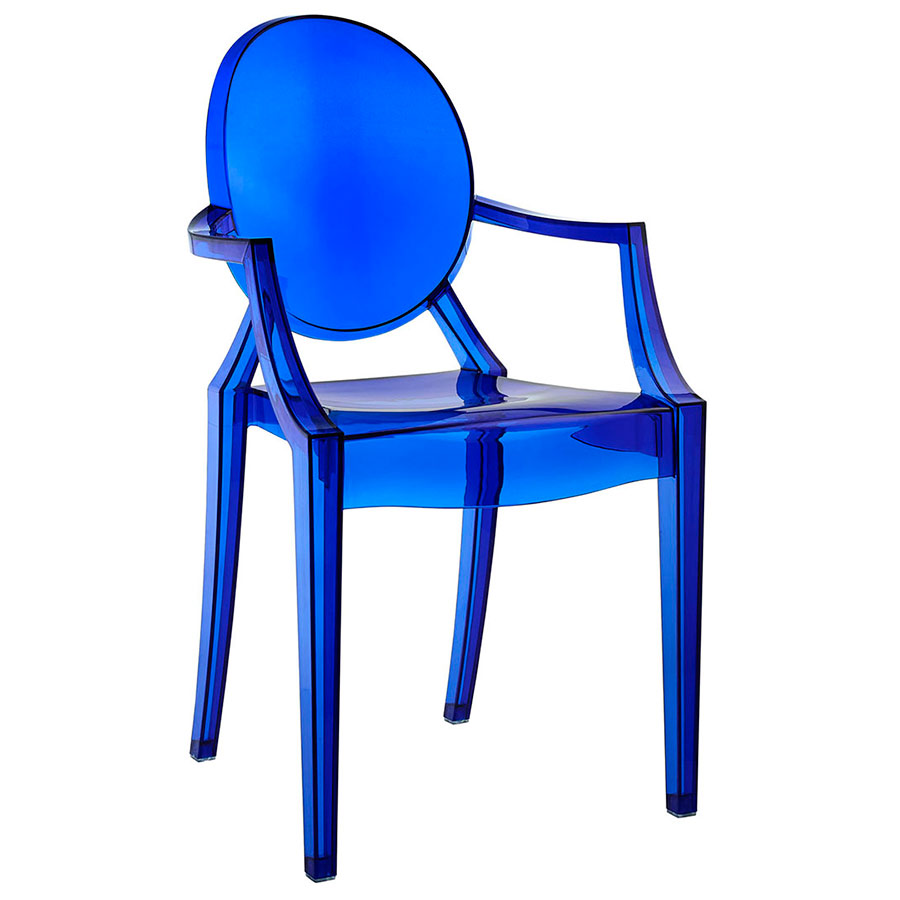 Caroline Arm Chair in Blue