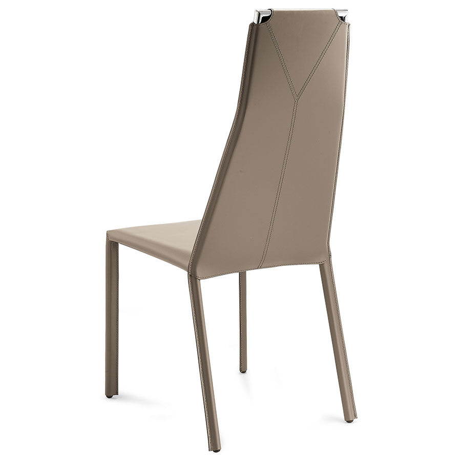 Carsten Taupe Modern Dining Chair