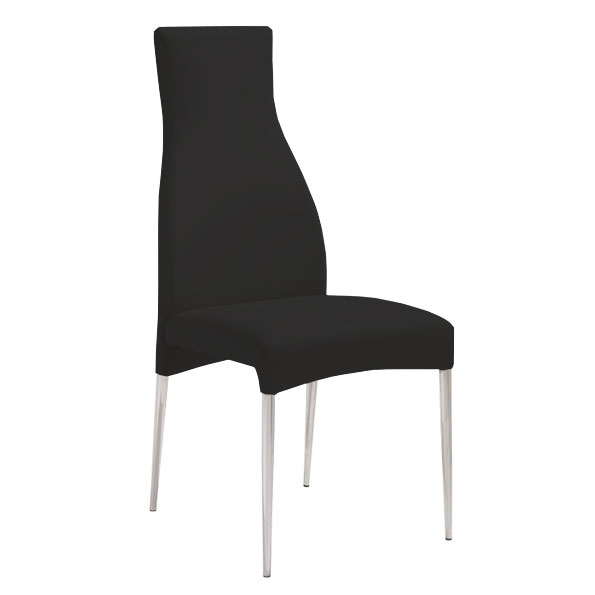 Cato Contemporary Black Dining Chair