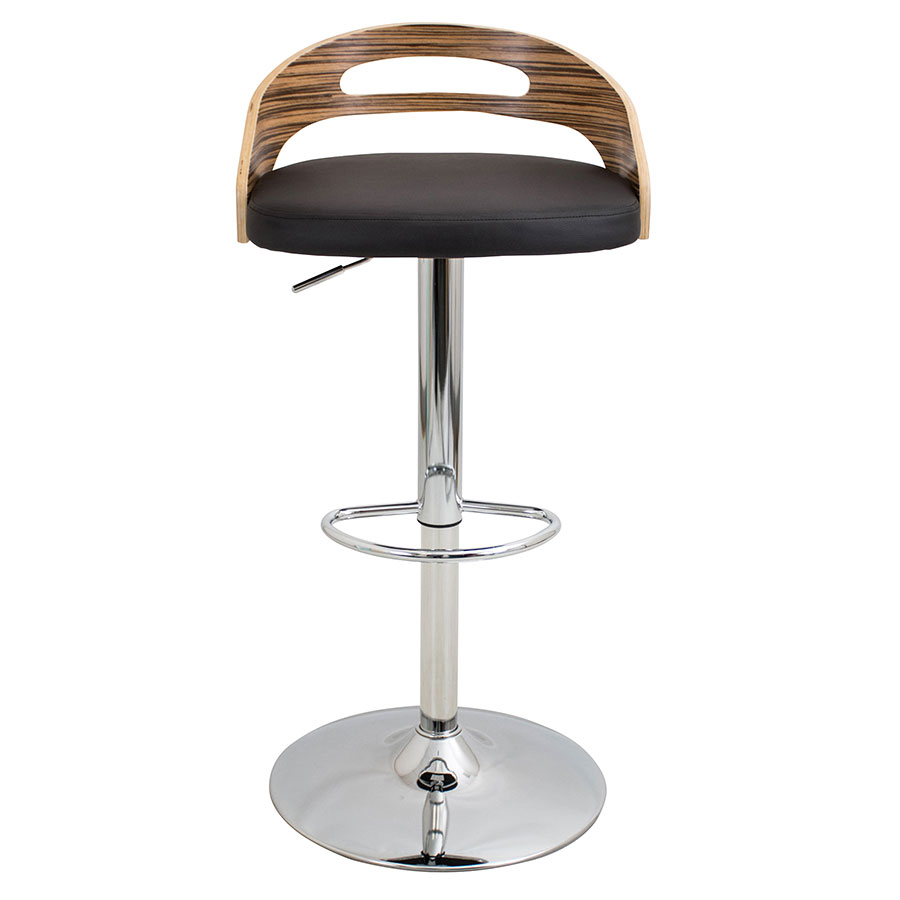 Charleen Brown Adjustable Contemporary Stool