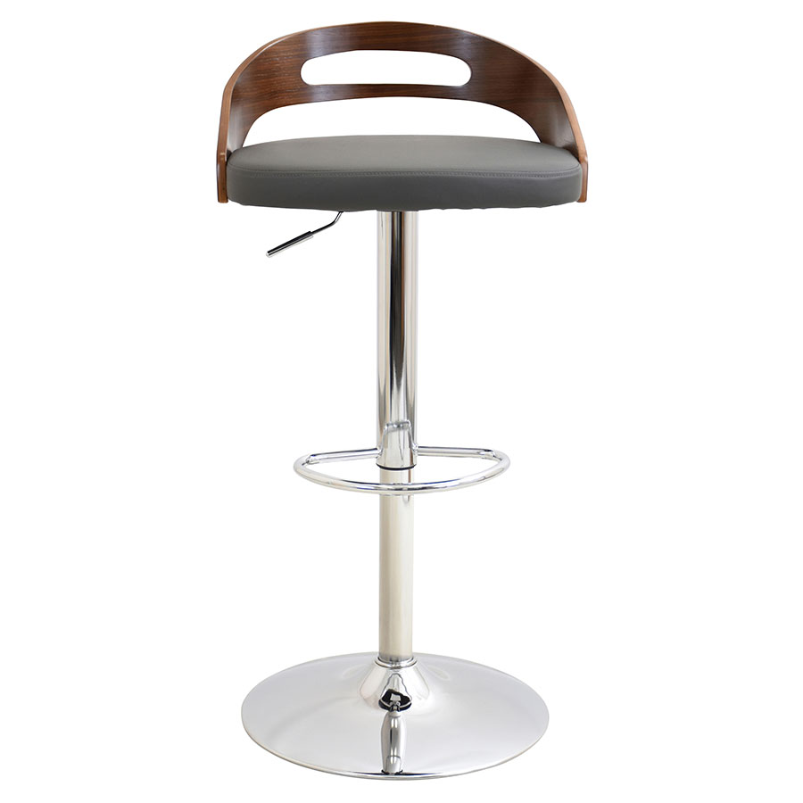 Charleen Gray Contemporary Adjustable Stool