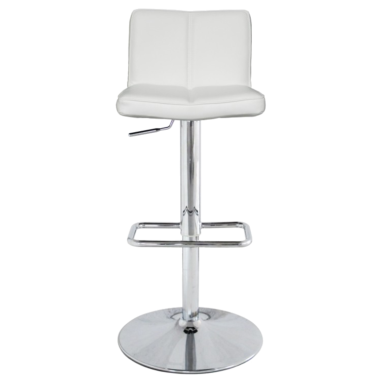 Charlie White Contemporary Adjustable Height Stool