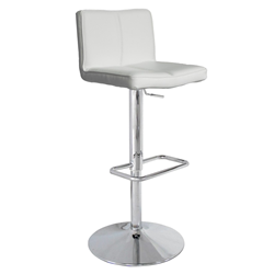 Charlie White Modern Adjustable Height Stool