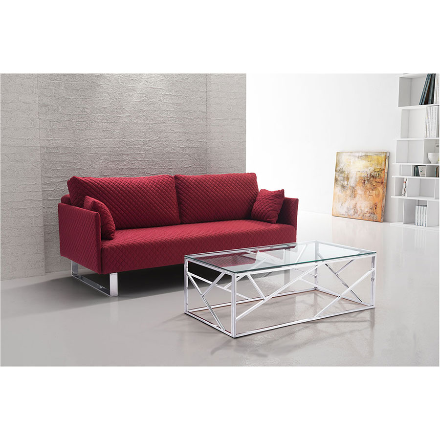 Chase Contemporary Cocktail Table
