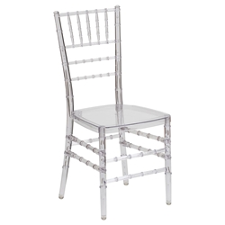 Chiavari Clear Modern Dining Chair