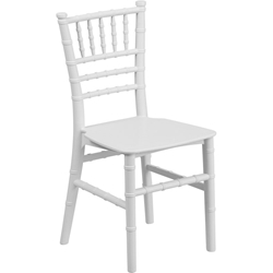 Chiavari Modern Kid%27s Chair White
