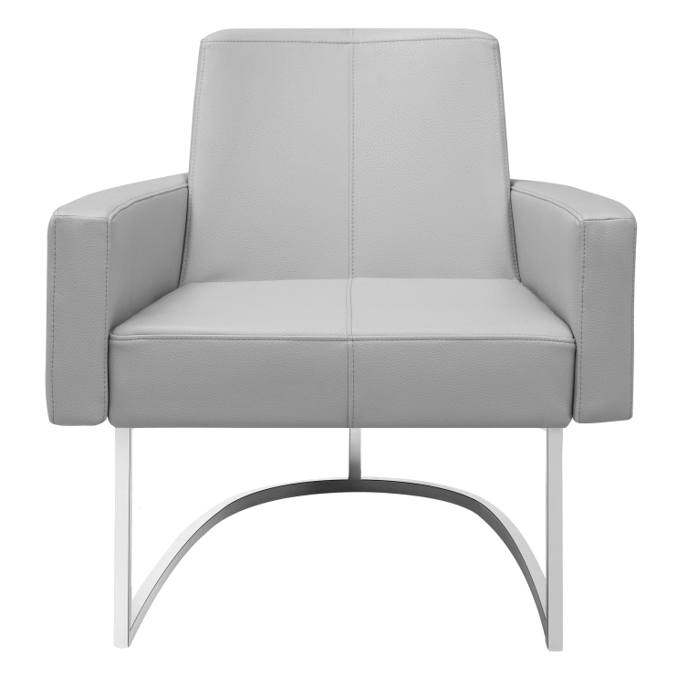 Chichi Taupe Contemporary Lounge Chair