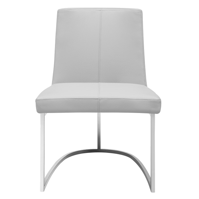 Chichi Taupe Contemporary Dining Side Chair