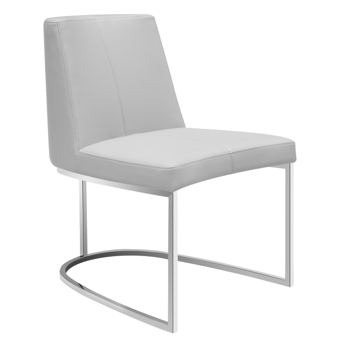 Chichi Taupe Modern Dining Side Chair