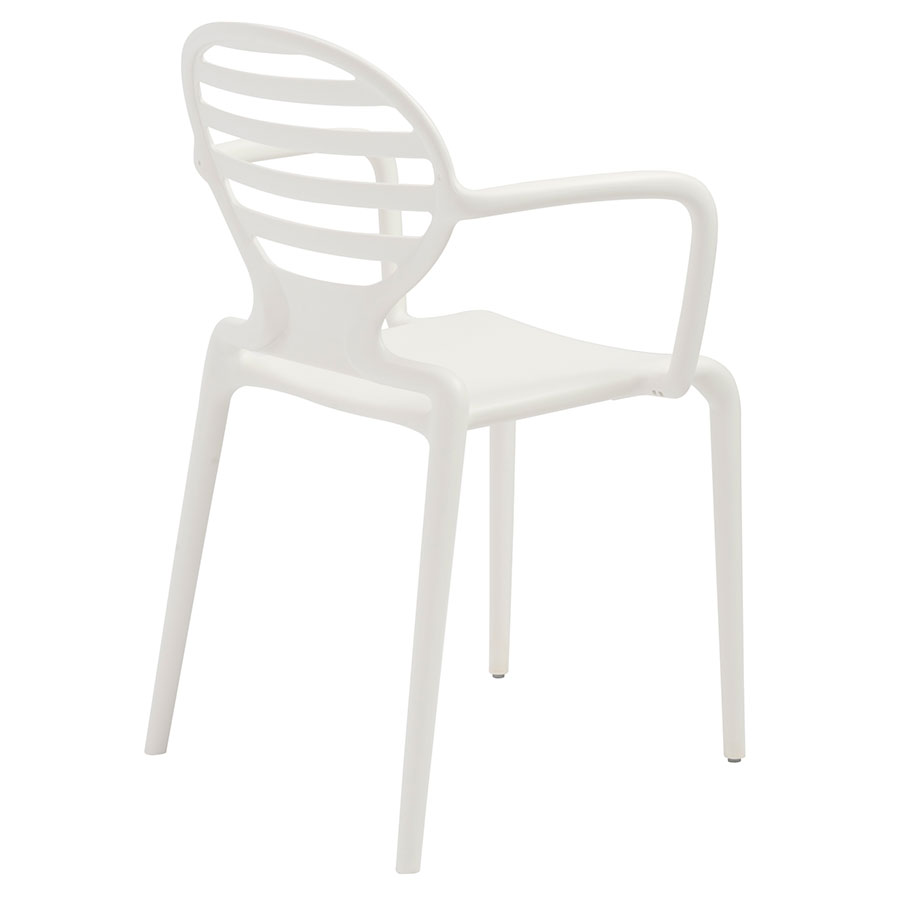 Clarence Modern Arm Chair in Linen