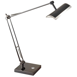 Clarkson Modern Black LED Desk Lamp
