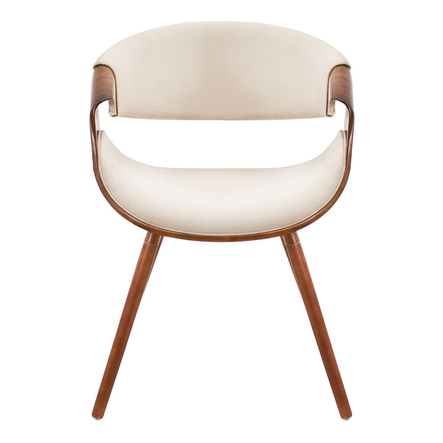 Clifton Cream Contemporary Arm Chair