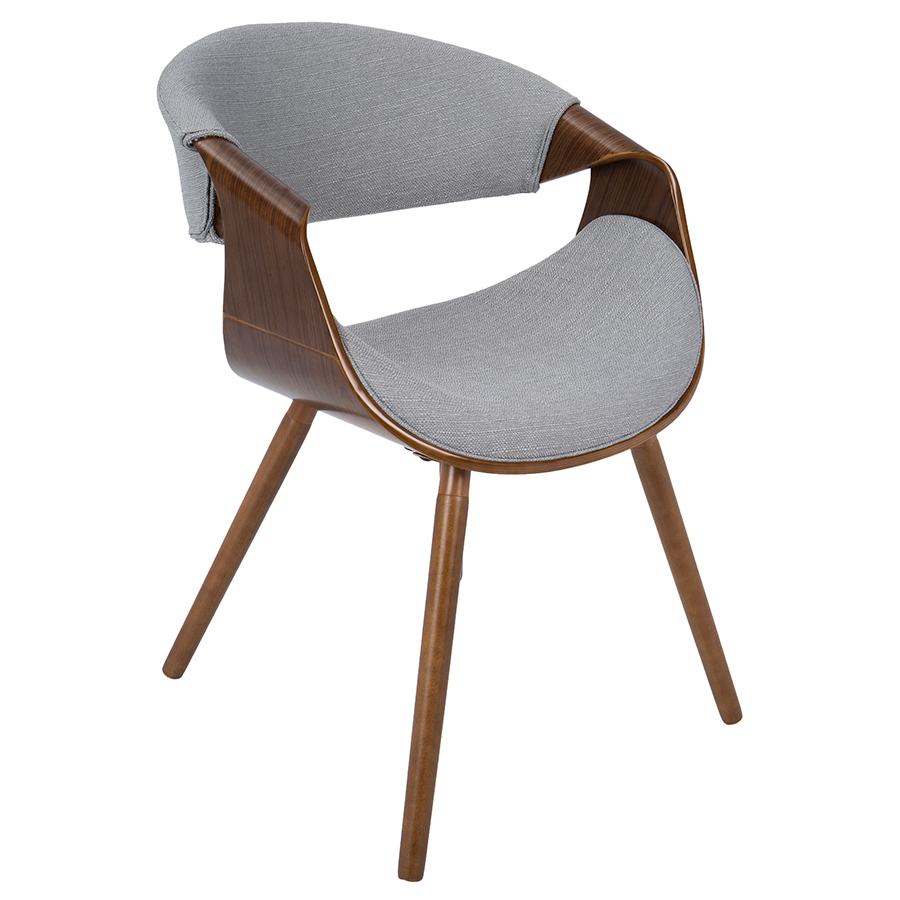 Clifton Gray Modern Arm Chair