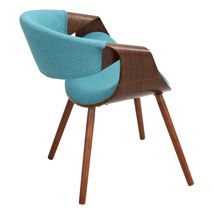 Wooden Arm Chairs In Teal ~ Modern dining chairs clifton teal arm chair eurway
