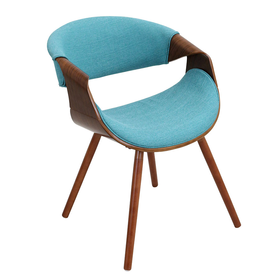 Clifton Teal Modern Arm Chair