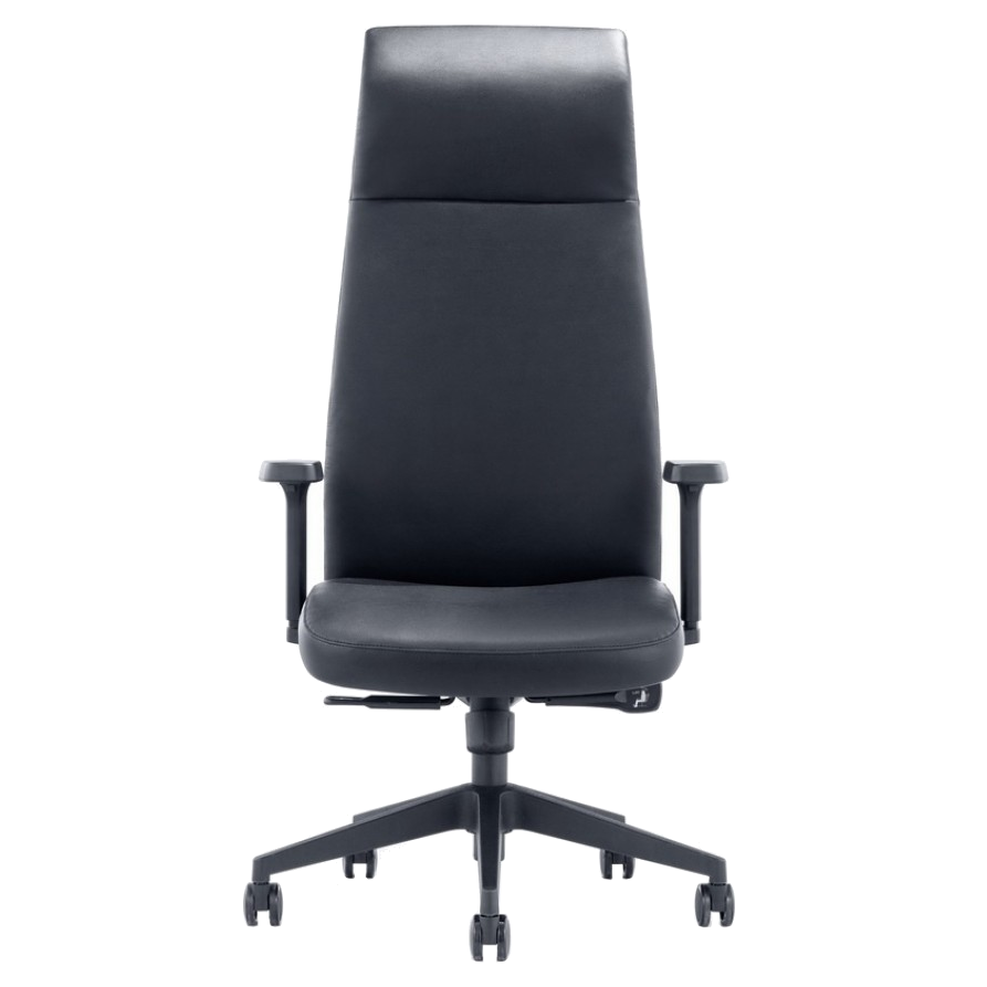 Columbia Black Contemporary Executive Office Chair