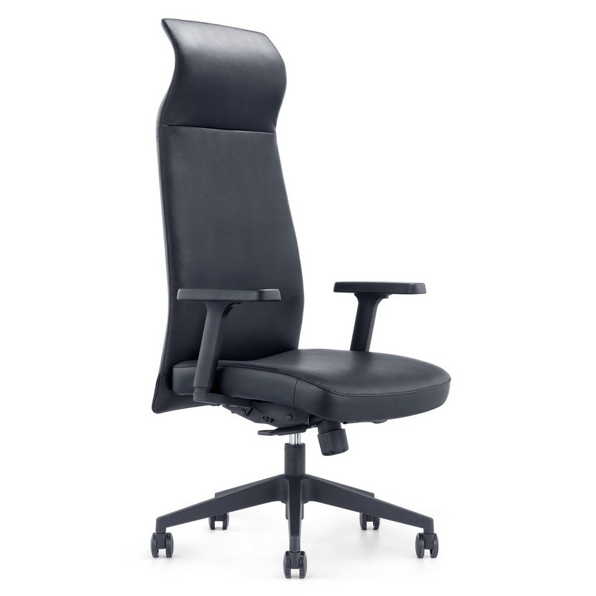 Columbia Black Modern Executive Office Chair