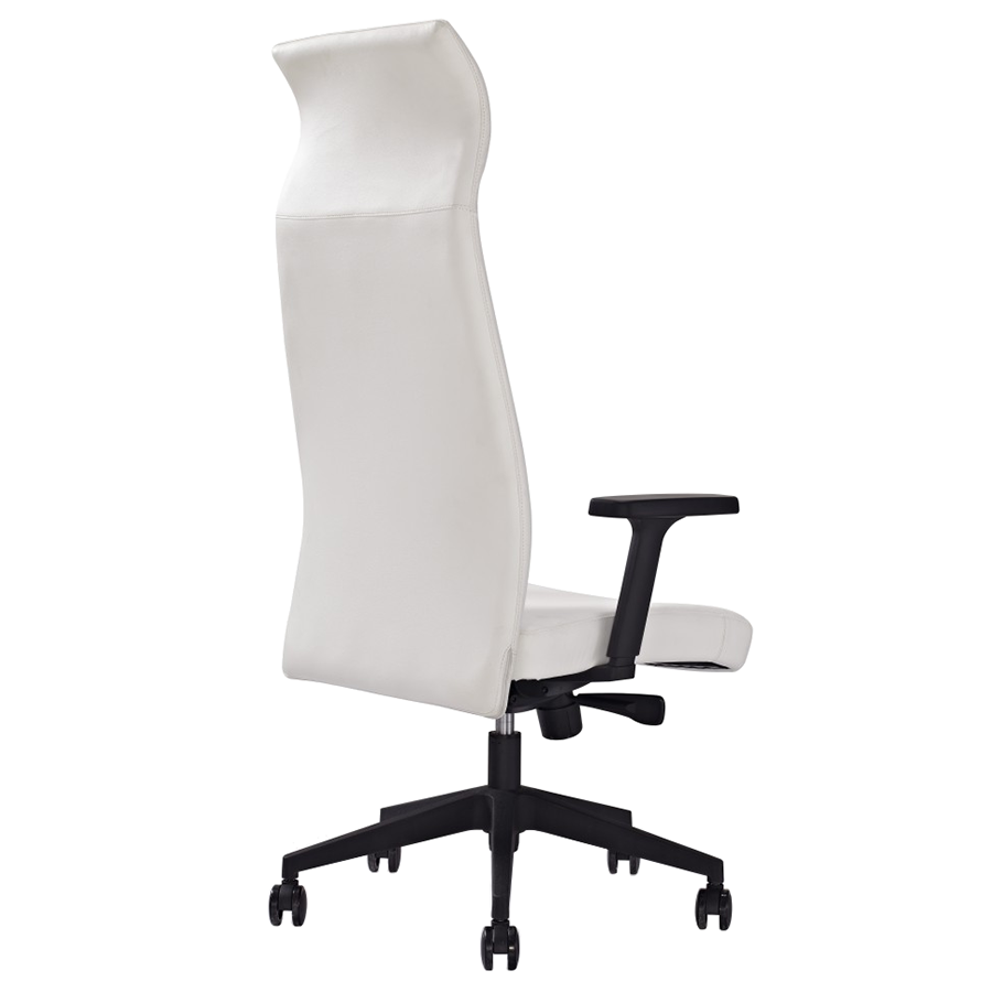 Accessories and furniture executive office desk furniture designs png - Columbia White Modern Executive Office Chair Eurway
