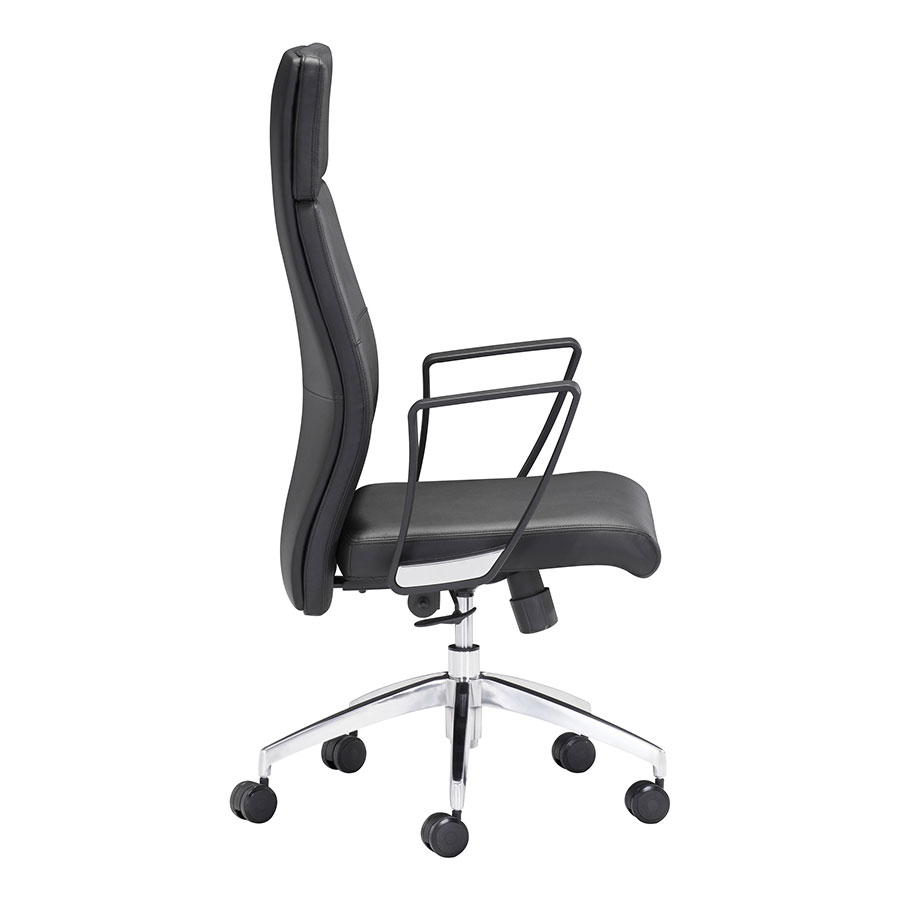 Conrad Contemporary Office Chair Side