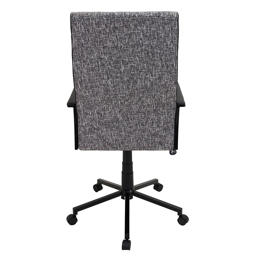 Constant Black Modern Office Chair - Back View