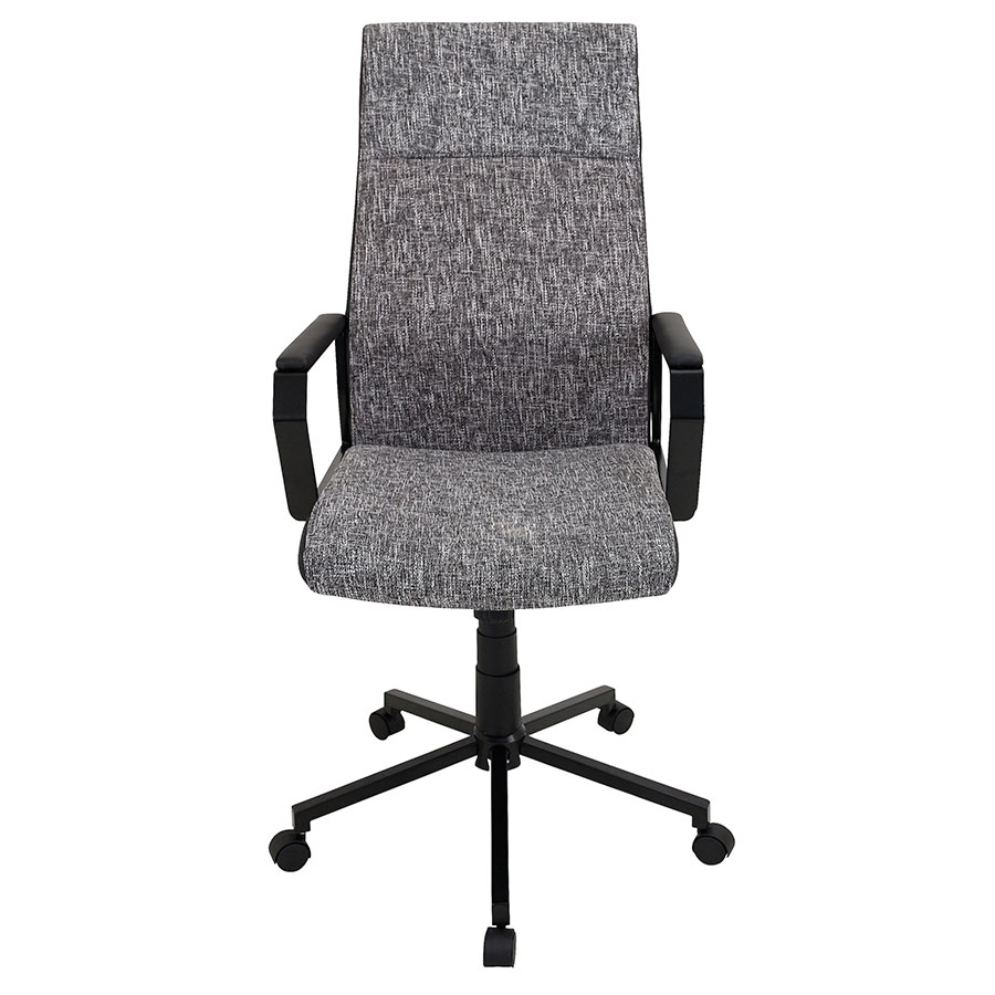 Constant Black Modern Office Chair - Front View
