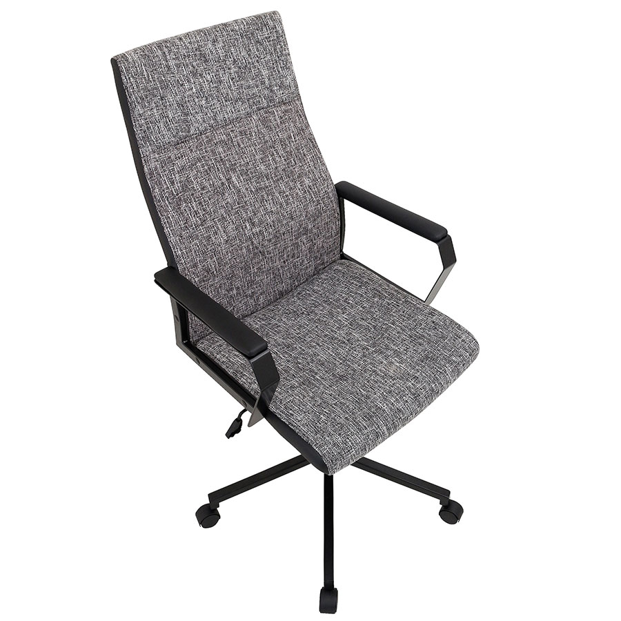 Constant Modern Office Chair - Black Fabric