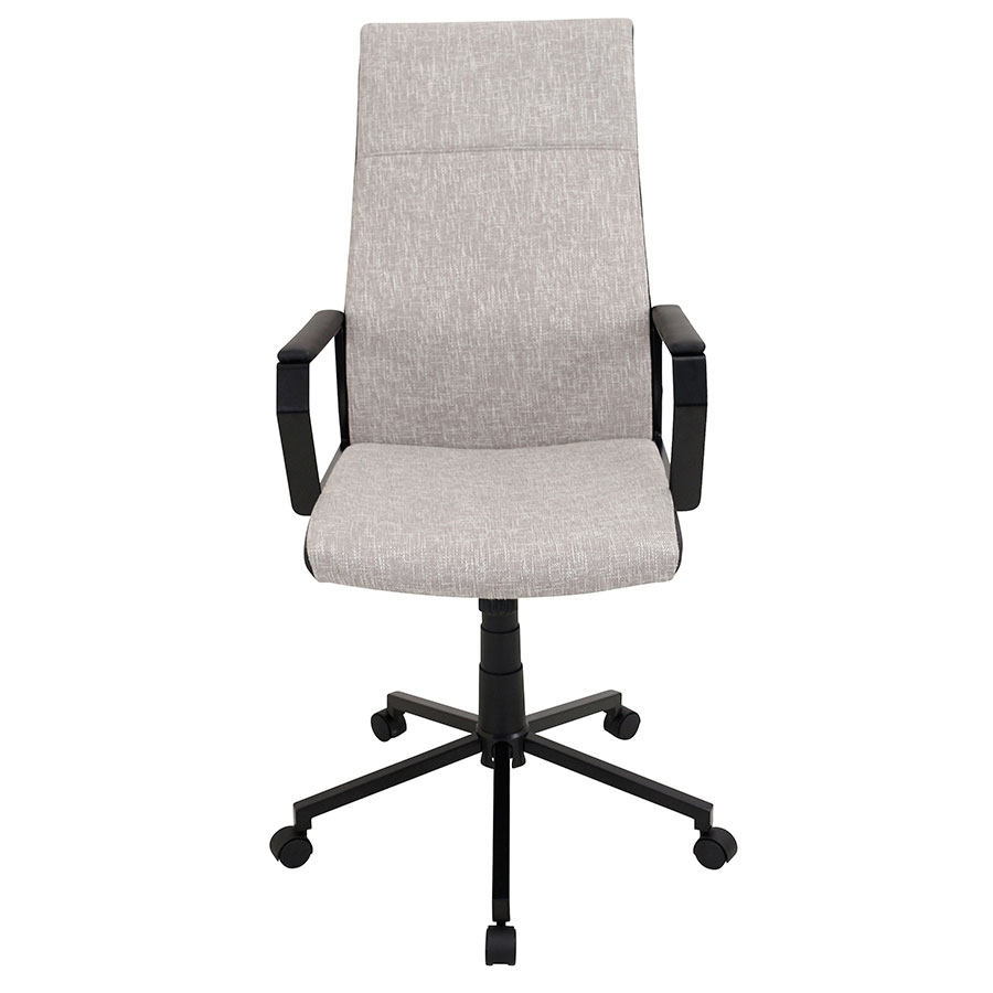Constant Tan Modern Office Chair - Front View
