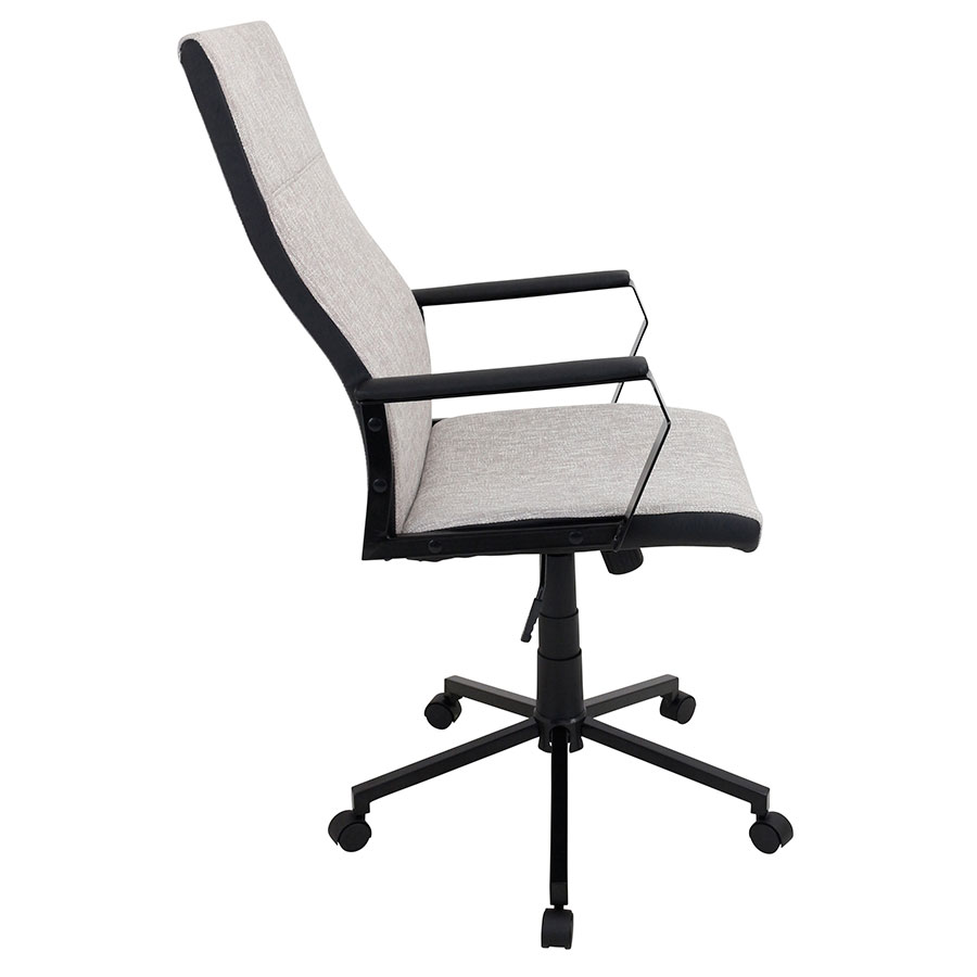 Constant Tan Modern Office Chair - Side View