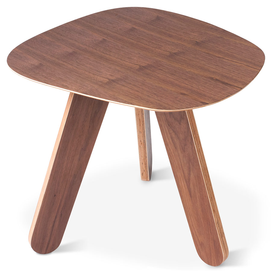 Cooper Contemporary End Table in Natural Walnut by Gus Modern