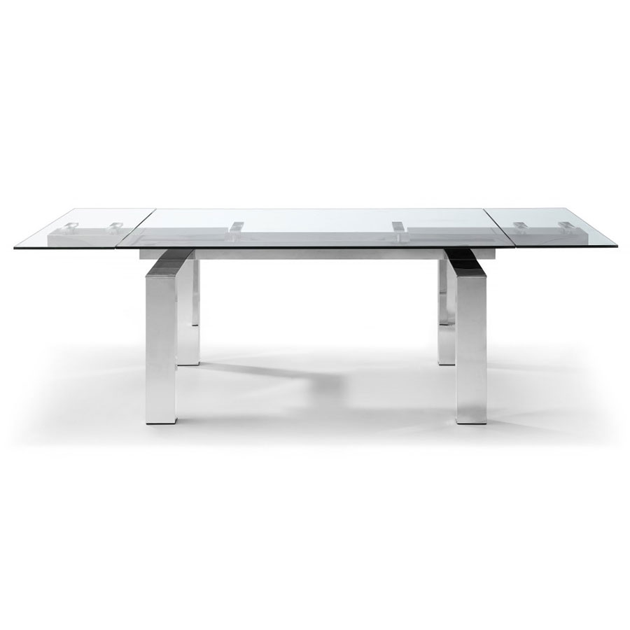 Corinne Extension Dining Table Front Extended