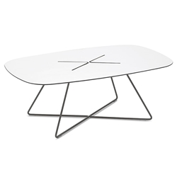 Craig Anthracite Modern Coffee Table