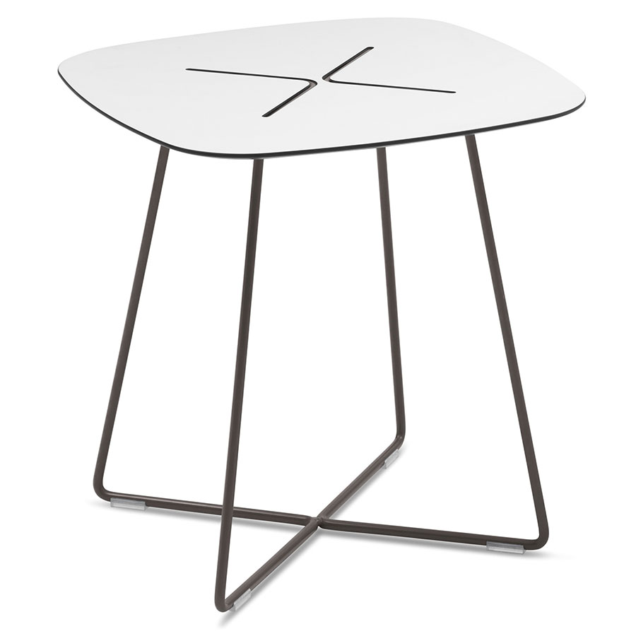 Craig Anthracite Modern End Table