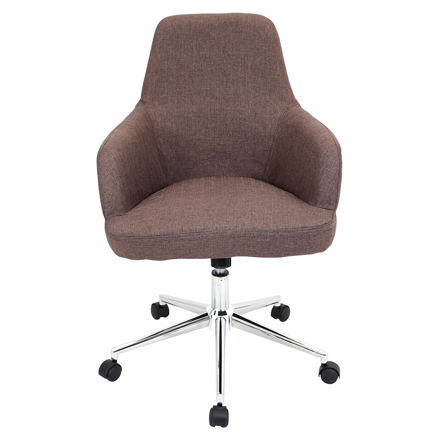Daffodil Brown Contemporary Office Chair