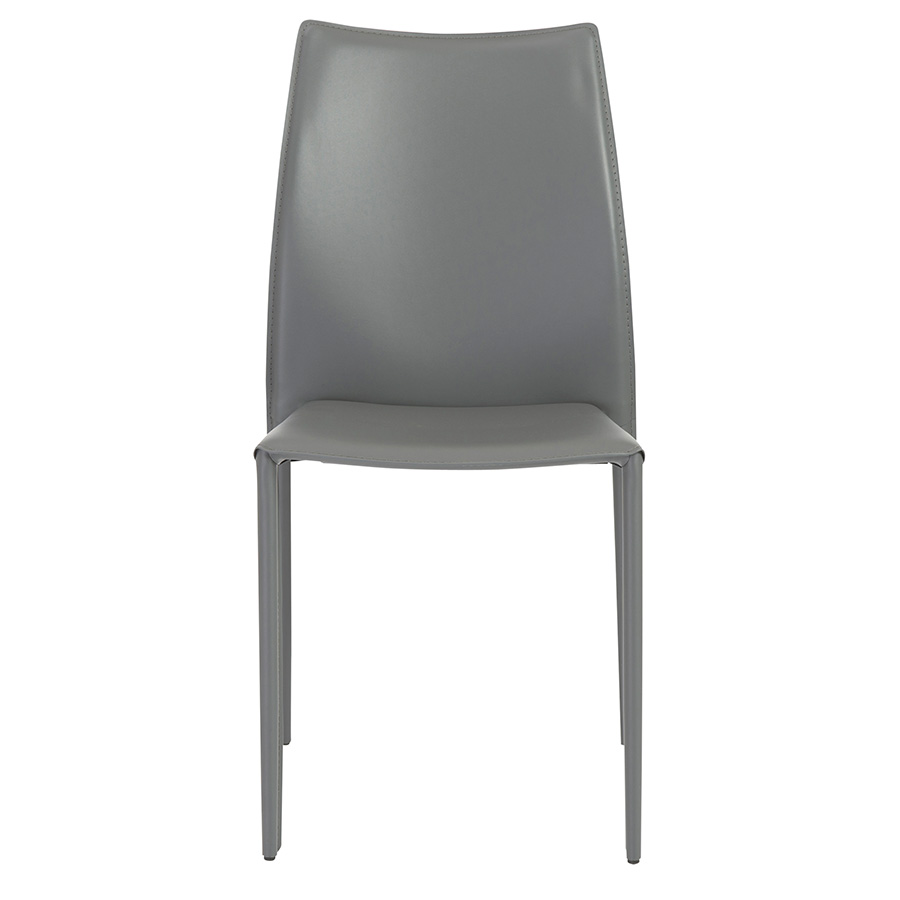 Dalia Gray Contemporary Stacking Chair
