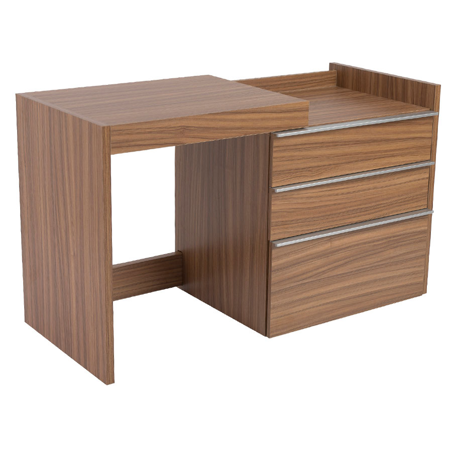 Dalton Modern Convertible Desk + File
