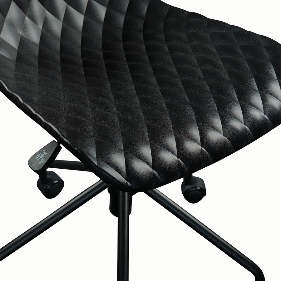 Daly Black Modern Task Chair Detail
