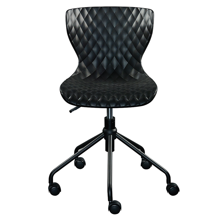 Daly Black Contemporary Task Chair