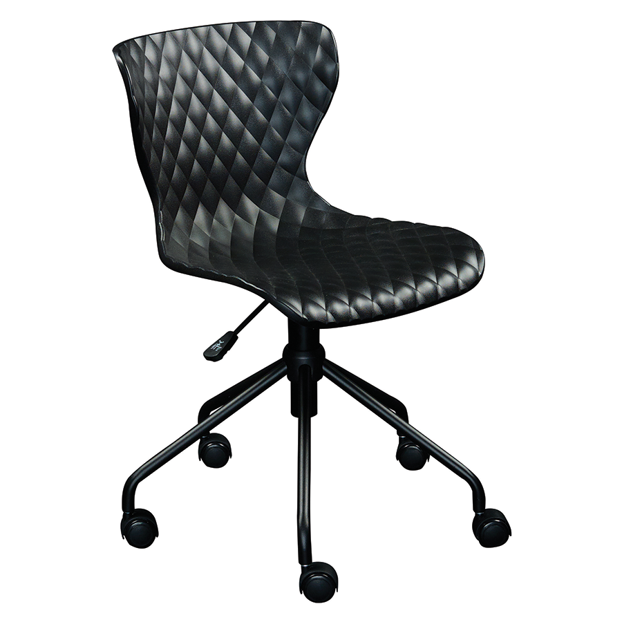 Daly Black Modern Task Chair