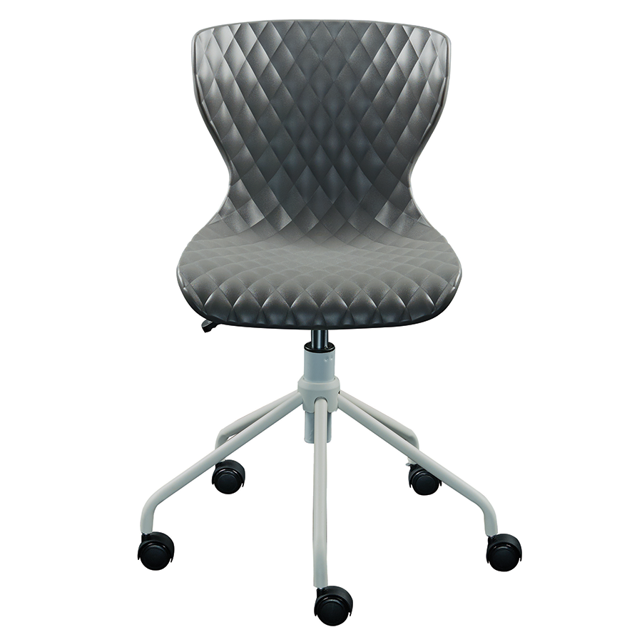 Daly Gray Contemporary Task Chair